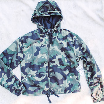 Papa Loves Mama - Camo Windbreaker