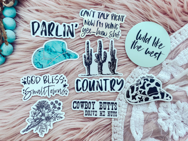 COUNTRY - Sticker