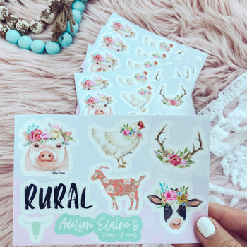 Farm - Sticker Sheet