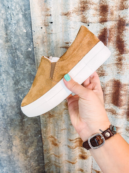 Desert Tan Slip On's