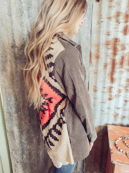 Small Town Roots Sweater- Reg. & Plus