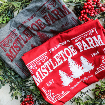 Mistletoe Farms - Christmas T-Shirt