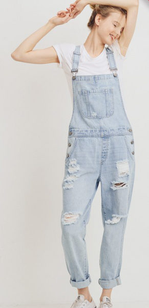 Thelma & Louise Plus Size Overall Pants
