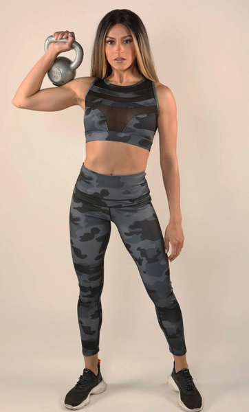 Camo Print - Leggings - smalls left
