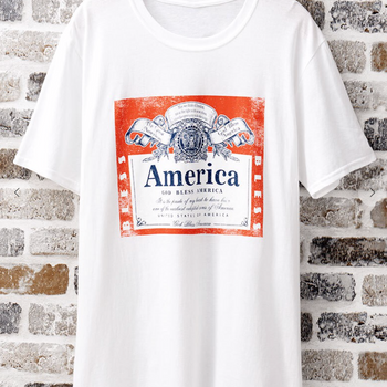 God Bless American Beer Shirt