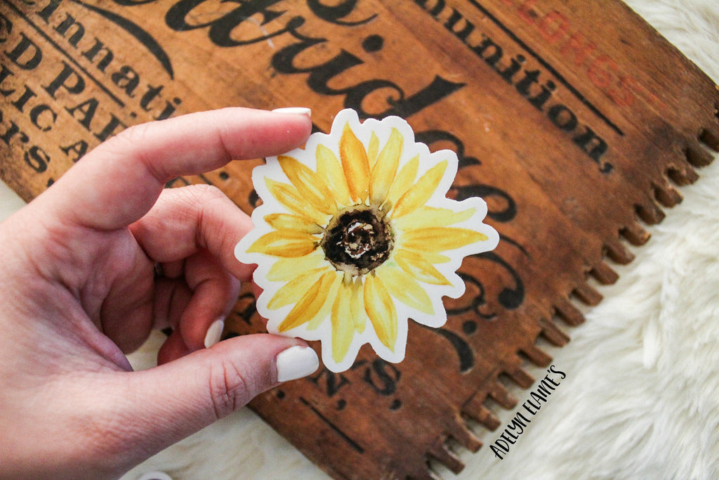 Sunflower - Sticker