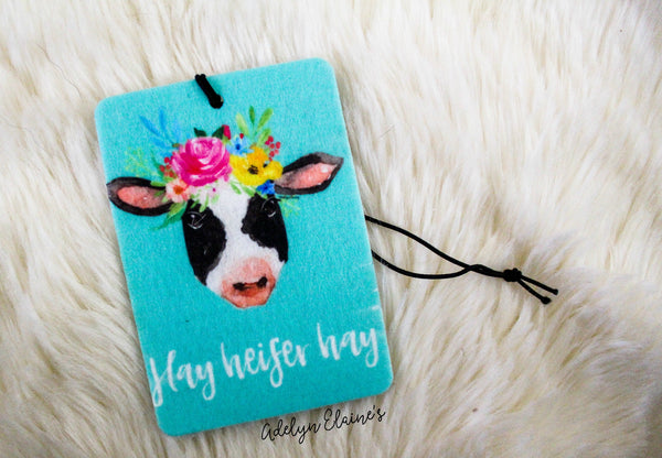 Hay Heifer Hay - Car Scents