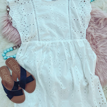 Summer Lovin' - Lace Dress