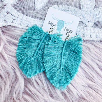 Sparks - Fringe Earrings