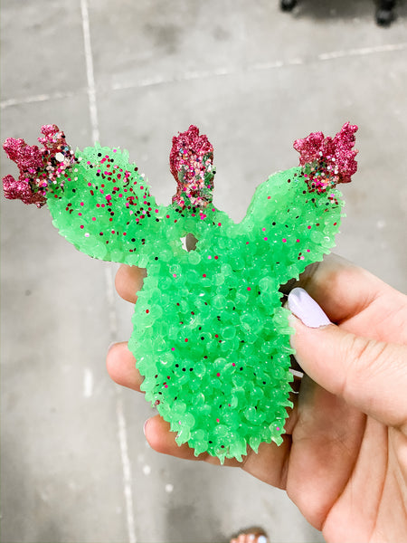 Glitter Tipped Prickly Cactus  - Smelly Jelly