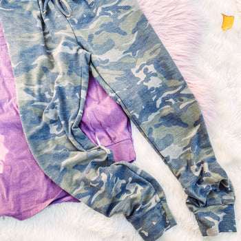 Camo Sweats - Reg & Plus