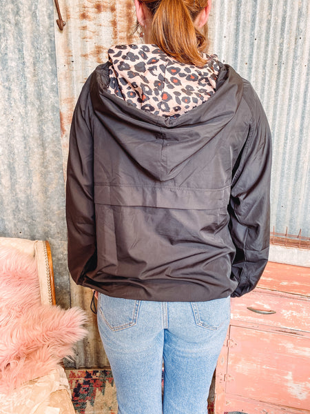 Leopard Wind Breaker - Reg + Plus