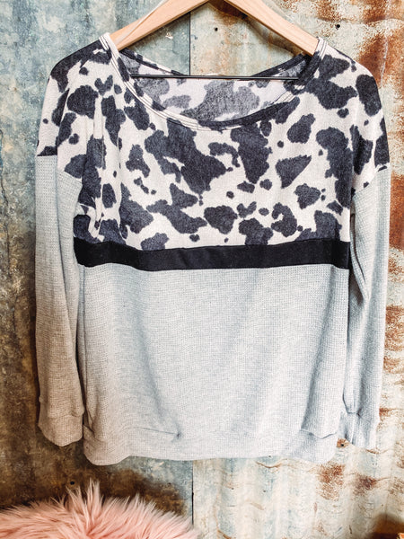 Cow Print Thermal