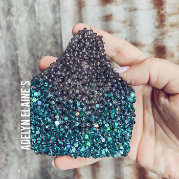 Cow Tag Glitter Ombre - Smelly Jelly
