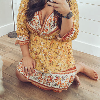 Goddess - Long Sleeve Dress