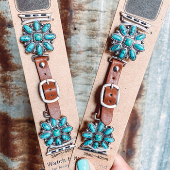 Sunburst - Turquoise Apple Watch Band