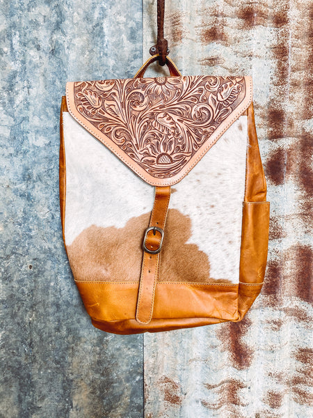 Agave - Cowhide Backpack