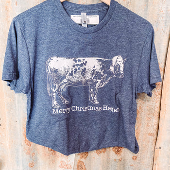 Merry Christmas Heifer - Graphic T-Shirt