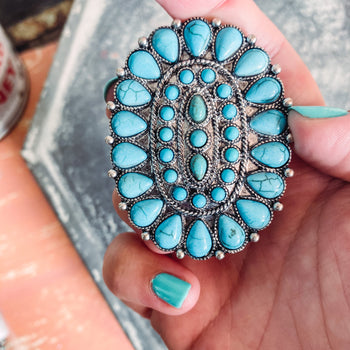 Turquoise Phone Grip