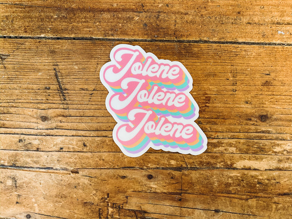 Jolene Jolene Sticker