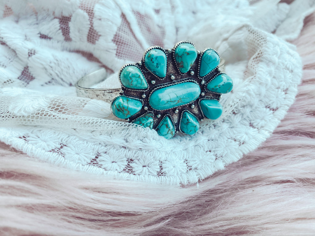 New Mexico - Turquoise Cuff
