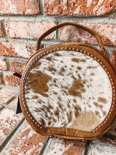 The Copper - Cowhide Canteen purse