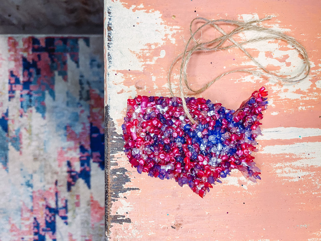 Confetti Red White and Blue USA  - Smelly Jelly