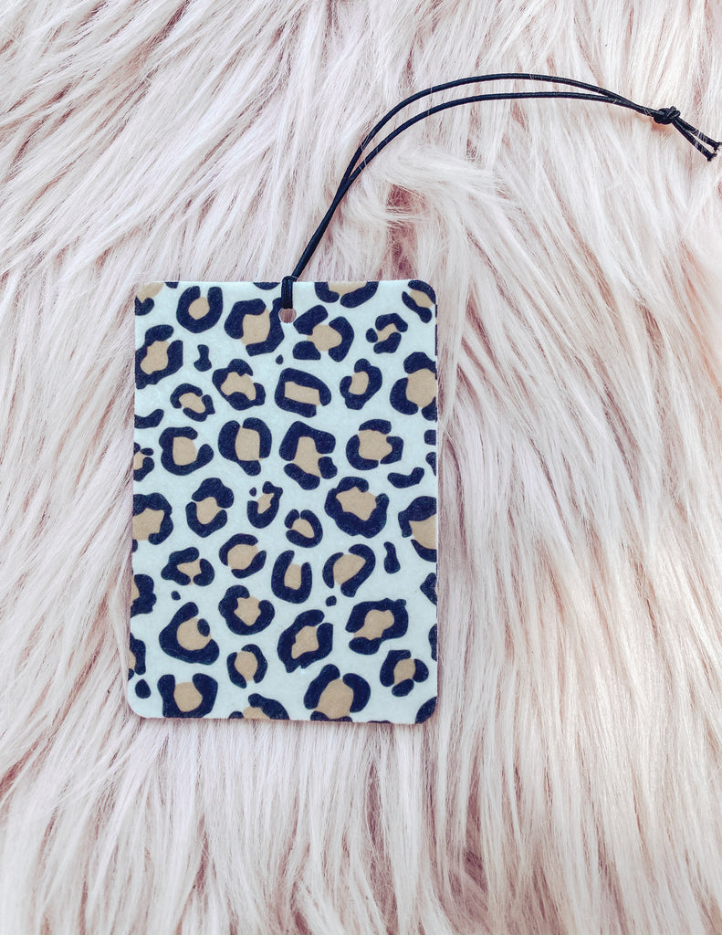Large Leopard Print - Car Scents