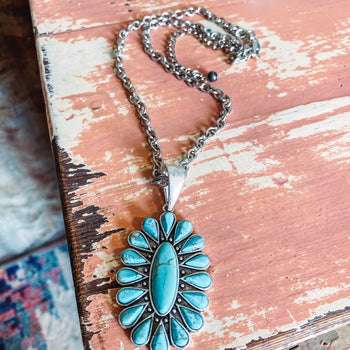 Winslow - Turquoise Necklace