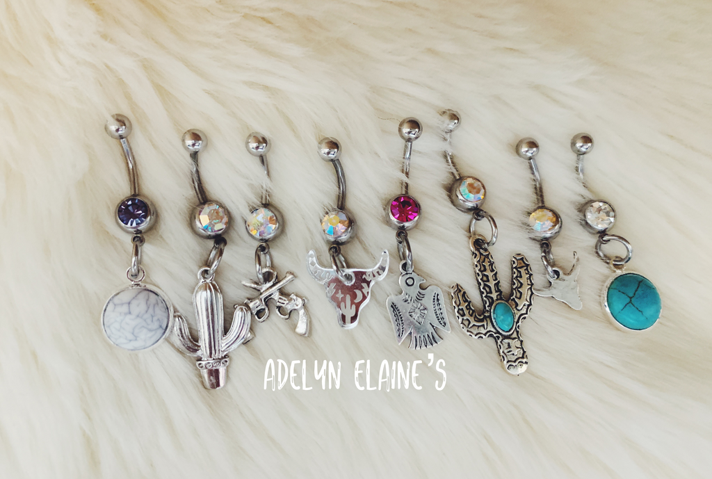 Southwestern 2.0 Belly Rings