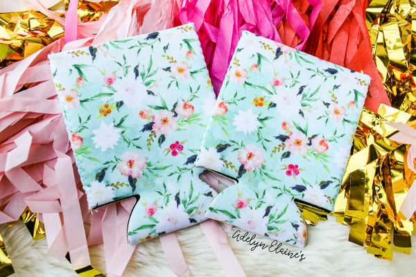 Gypsy Floral Print - Can Coolers