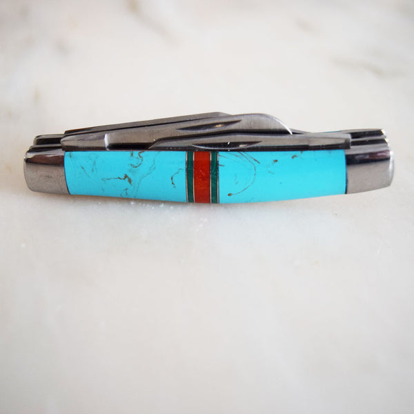 Turquoise Pocket Knife