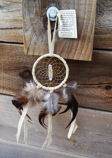 Cream Dream Catcher