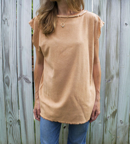 Clay Caftan Top