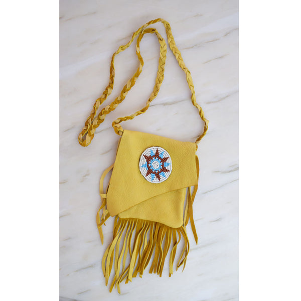 Cowhide Star Purse