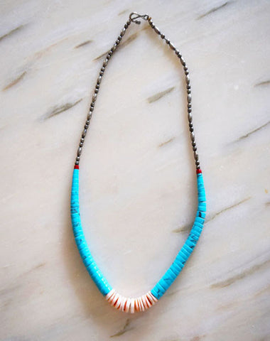 Necklace - Vintage Turquoise