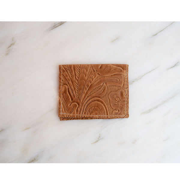 Card Holder - Tan Leather