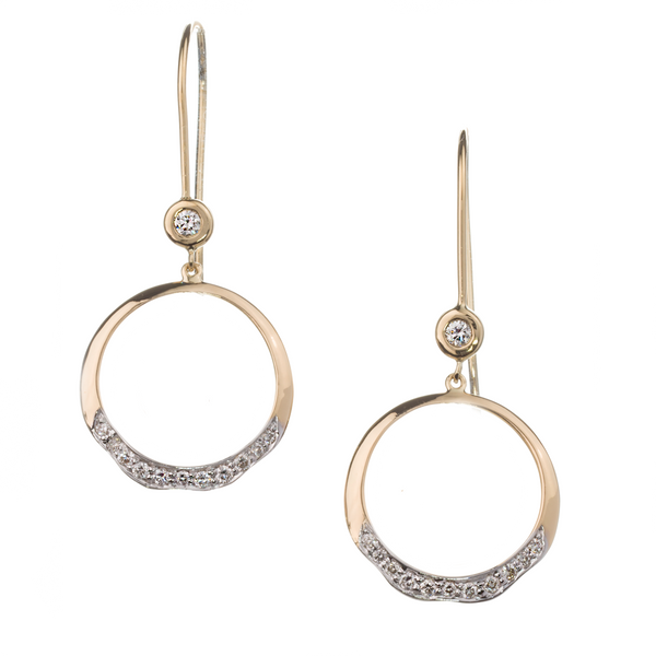 Soleil Small Round Earring ~ EY1146