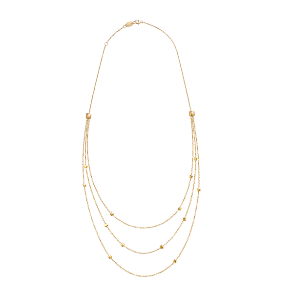 Shimmer Triple Necklace ~ NY1106