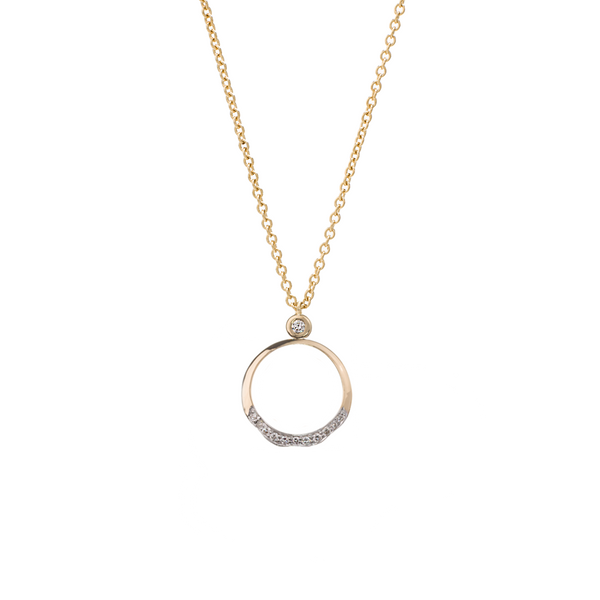 Soleil Small Round Pendant  ~ NY1146