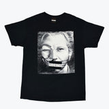 NORTH X GUY FAWKES X ASSANGE BLACK T SHIRT UNISEX