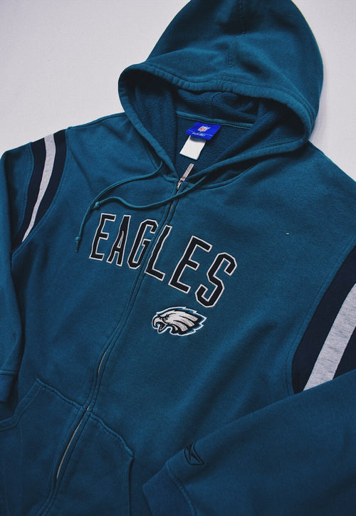 Vintage Reebok Philadelphia Eagles Embroidered Jacket