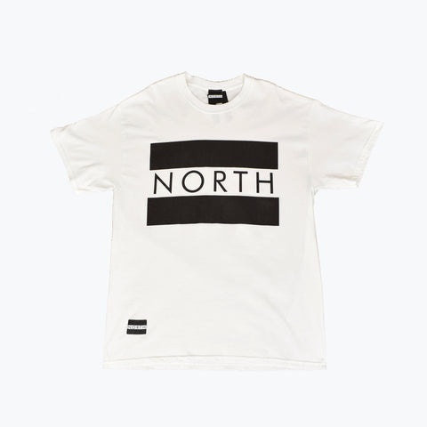 NORTH SIGNATURE BOX FLAG LOGO UNISEX T SHIRT