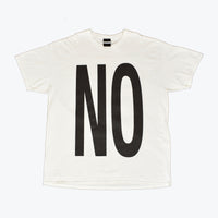 NORTH SPELL OUT DOUBLE SIDE PRINT UNISEX T SHIRT