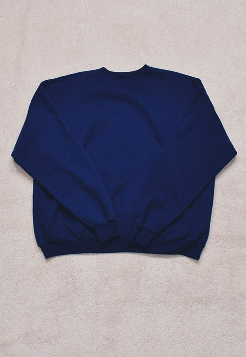 Vintage 90s Navy USA Embroidered Sweater