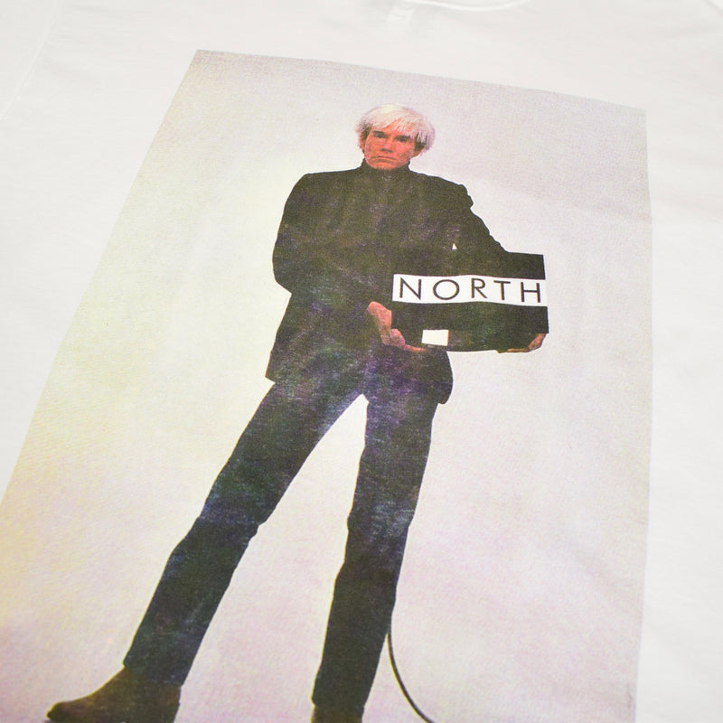 NORTH X ANDY WARHOL PRINT T SHIRT OVERSIZED UNISEX