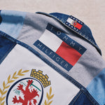 Reworked Tommy Hilfiger Denim Jacket