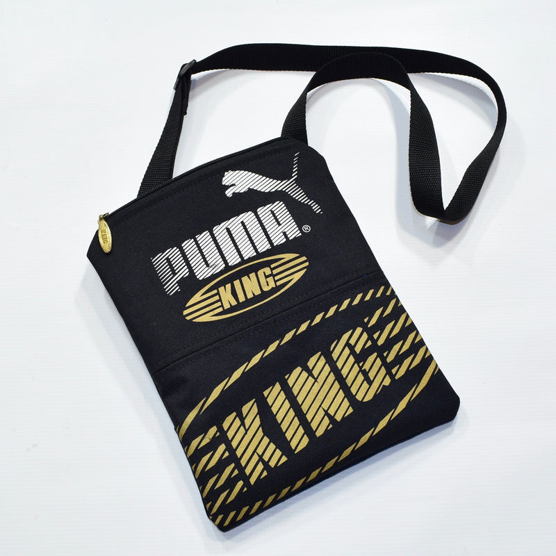 Reworked Hand Made Puma King Crossbody Bag