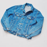 Reworked Marilyn Monroe Denim Jacket