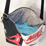 Reworked Hand Made Nike Bag